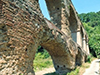 Ancien ouvrage romain réalisé en béton de Chaux, selon l'opus caementicium et latericium