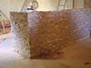 Aménagement d'un bar en moellons maçonné à la Chaux