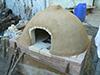 Réalisation d'un Four à pain en briques réfractaires et mortier de Chaux et terre
