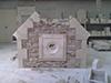 Réalisation d'un mur pignon et sa chevronnière en pierres de tuffeau