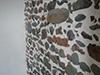 Maçonnerie de roches basaltiques au mortier de Chaux et jointoiement à la Chaux aérienne