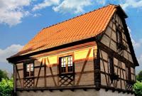 Construction d'une maison alsacienne en béton Chaux-chanvre