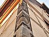 Banchage Chaux-chanvre pour une construction alsacienne traditionnelle, le résultat donne l'impression d'une finition