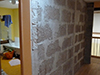Assemblage briques Chaux-chanvre pour cloison de séparation
