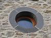 Ouverture crée dans une bâtisse régionale restaurée à la Chaux