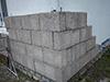 Doublage isolant en briques de Chaux-chanvre