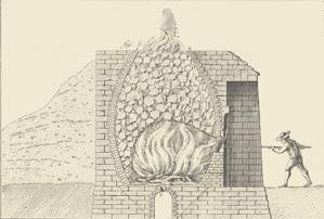 Gravure issue de l'Encyclopédie ou dictionnaire raisonné des sciences, des arts et des métiers (1751), cette illustration est répertoriée dans la section «Agriculture et économie rustique»