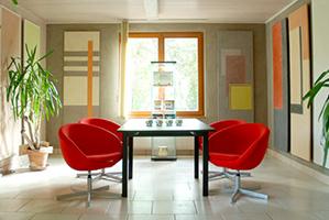 L'Espace de vente où Sylvain BOEHM fait découvrir la Chaux et prodigue ses conseils personnalisés