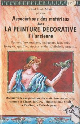 Associations des matériaux dans la peinture décorative à l'ancienne