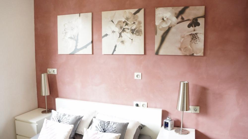 Peinture rose chambre christoph kicherer chambre for Peinture rose poudre chambre